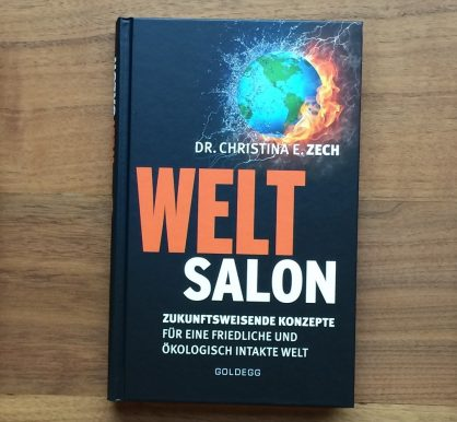 Christina E. Zech WELTSALON. Forward-looking concepts in German just released