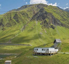 Refugees do Community Work in Swiss Alps